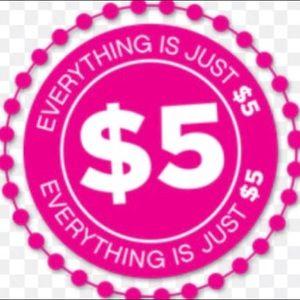 $5 SALE !!!